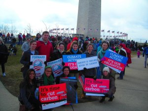 In 2013, BTC students participated in the Forward On Climate Rally in Washington, D.C.