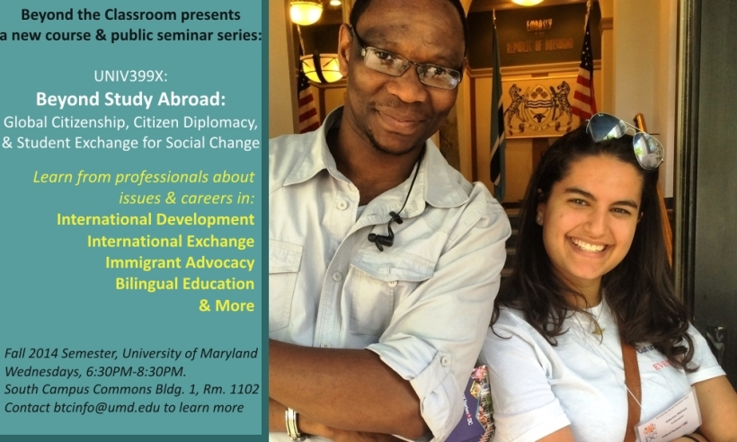 Beyond Study Abroad: Global Citizenship, Citizen Diplomacy, & Careers in International & Cross-Cultural Engagement